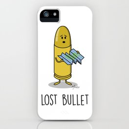 Lost Bullet iPhone Case