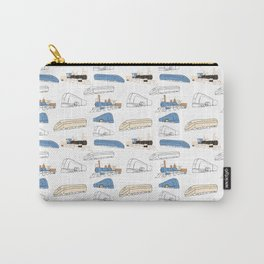 Trains Carry-All Pouch
