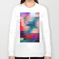 triangle Long Sleeve T-shirts featuring TRIANGLE by Hands in the Sky