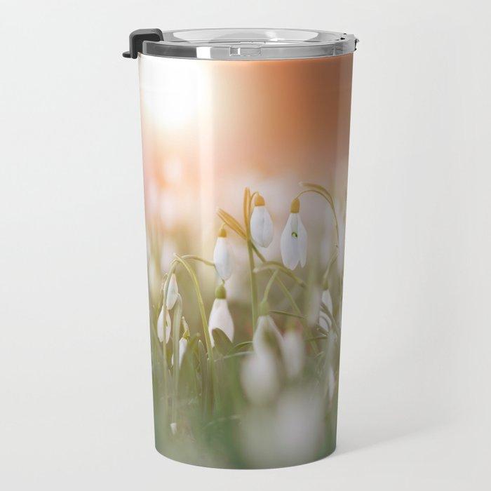 Snowdrop Travel Mug
