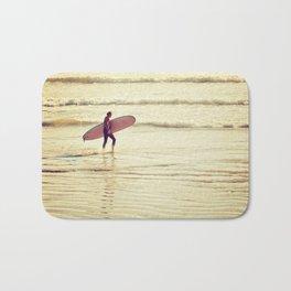 Golden Surf Bath Mat