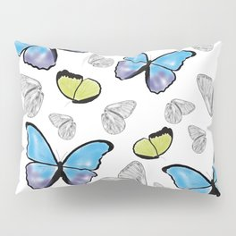 Butterfly-Waiting For Spring Pillow Sham