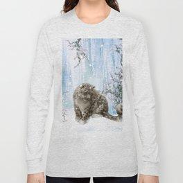 Wonderful snowleopard Long Sleeve T-shirt