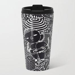 Nightswimming Metal Travel Mug