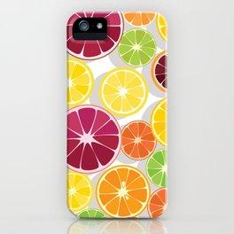 Citrus Assortment iPhone Case