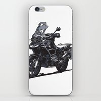 bmw iPhone & iPod Skins featuring BMW R1200GS by Ernie Young