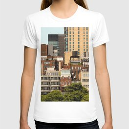 New York architecture T-shirt