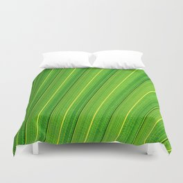 The green lines Duvet Cover