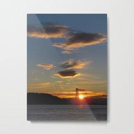 and the sun rises again Metal Print