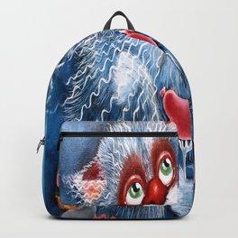 Pensive cat Backpack