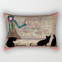 Canal in Amsterdam Rectangular Pillow
