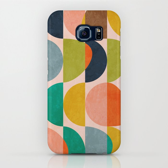 Shapes Abstract II IPhone Case By Anarutbre