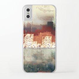 City Rain Clear iPhone Case