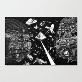 Containment Breach Canvas Print