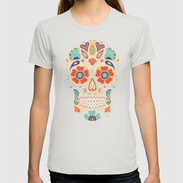 Day of the Dead Sugar Skull Candy T-shirt