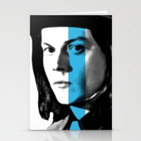 jack white Stationery Cards featuring Jack White by nufertity