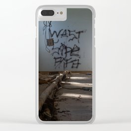 West Side Bifa(?) Clear iPhone Case