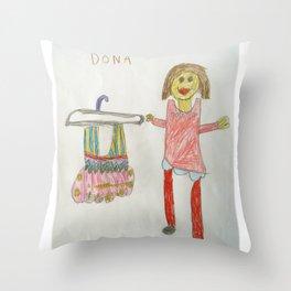 Ballet Time for Dona Throw Pillow