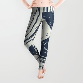 Abstract River Leggings