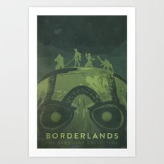 Borderlands: The Handsome Collection Art Print