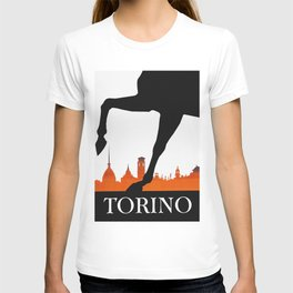 Vintage Torino or Turin Italy Travel Poster T-shirt