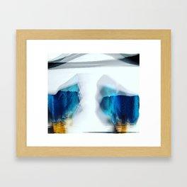 HAZEY Framed Art Print