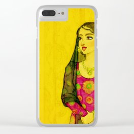 Emirati Women From The 80's Clear iPhone Case