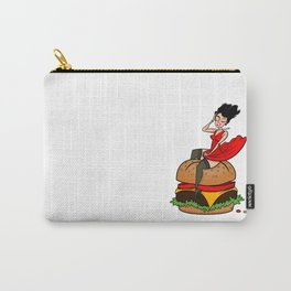 Hamburger Hottie Carry-All Pouch