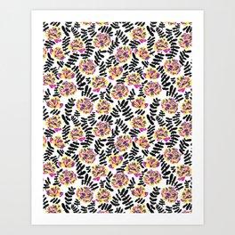 Poppy Print in Bumble Art Print