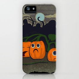 Pumpkin patch massacre iPhone Case