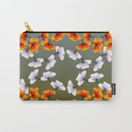 patterns - poppy 2 Carry-All Pouch