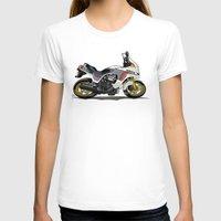 honda T-shirts featuring 1982 Honda CX500TC Turbo by Saddle Bums