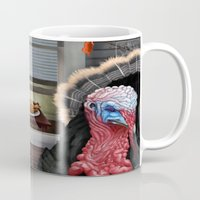 thanksgiving Mugs featuring Thanksgiving by Stevie Ray Thompson