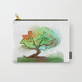 Big watercolor tree Carry-All Pouch