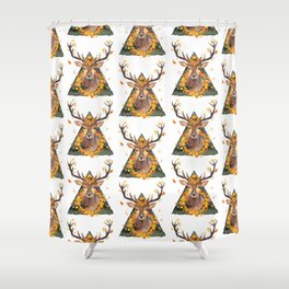 The Spirit of the Forest Shower Curtain