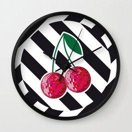 disco chery Wall Clock