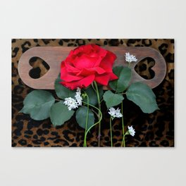 Love Springs Eternal - With A Little Help Canvas Print