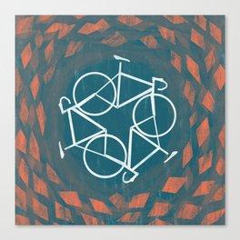 Bike-Cycle Canvas Print