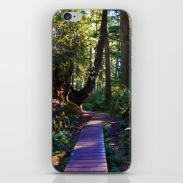 Trail to the beach, Tofino BC iPhone Skin