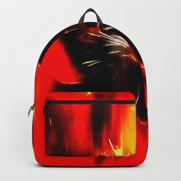 Mohnblüte Backpack