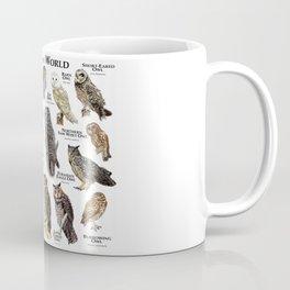 Owls of the World Coffee Mug