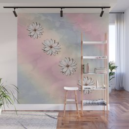 lily-white Wall Mural