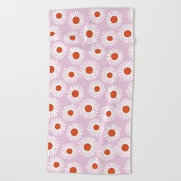 Daisy Starbusrt Beach Towel