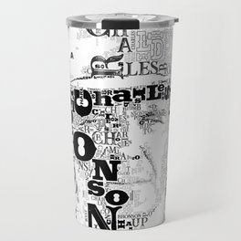 Charles Bronson Once upon a time in the west Travel Mug