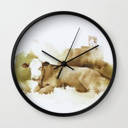 Ciao Vaca! Wall Clock