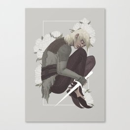 THE FORGOTTEN BOY OF THE WHITE SPIRE Canvas Print
