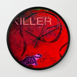 Killer Kitty Wall Clock