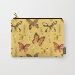 Butterfly Totem Pattern Carry-All Pouch