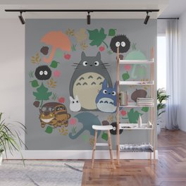 Troll Wreath Wall Mural