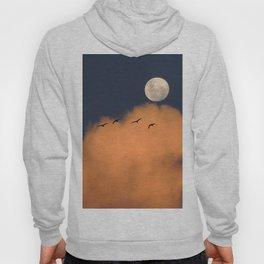 Moon cloud sky 7 Hoody